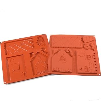 Silicone Baking House silicone mold gingerbread house