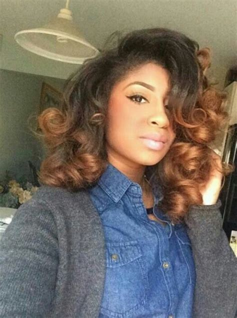the perfect roller set for bob hair style 426 best images about hair craze on pinterest black