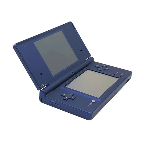 nintendo dsi console nintendo dsi metallic blue console pre owned the gamesmen