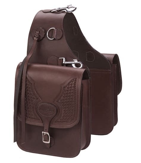 Miniso Backpack By Treat N barefoot saddle bag real leather with tooling
