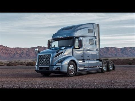 brand new volvo semi truck 2018 volvo vnl780 long haul the brand new truck from