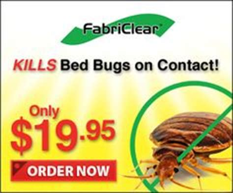 fabriclear bed bugs  pinterest bed bug spray bed bugs  infomercial products