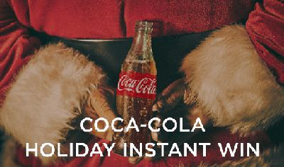 Holiday Instant Win Games - my coke rewards holiday instant win game over 300 000 winners