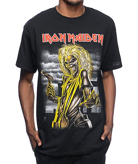 T Shirt Metal Iron Maiden iron maiden killers black t shirt zumiez