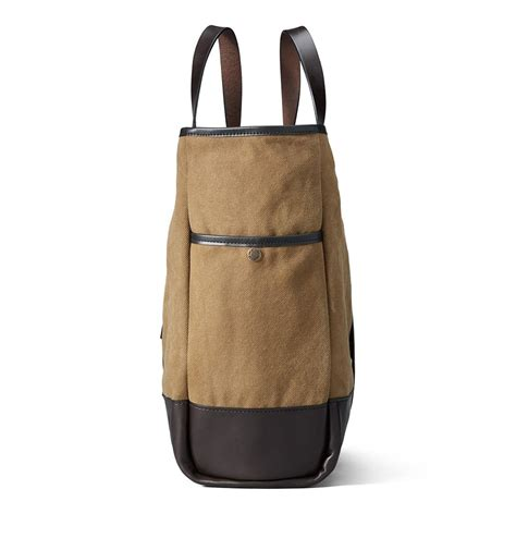 rugged tote filson rugged canvas tote 11070430 a handsome closable tote that will last for decades