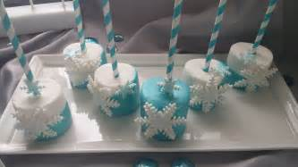 frozen inspired choco marshmallows stl cake pops