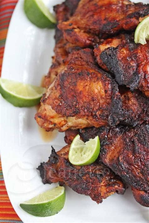 smoked grilled peruvian chicken recipe where there s