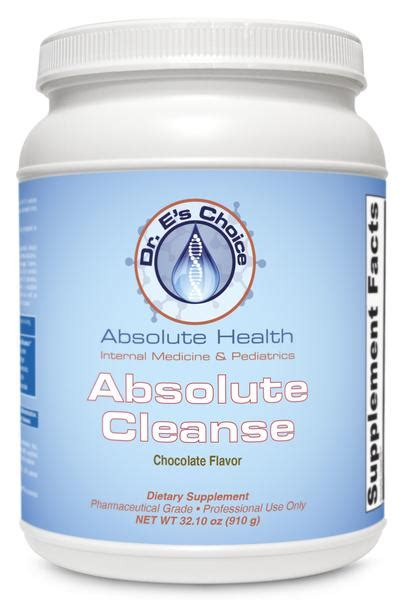 Absolute Cleanse And Detox by Absolute Cleanse Doctor E S Choice Store