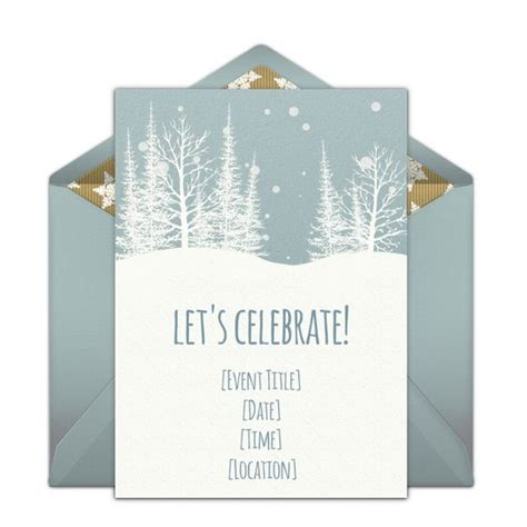 Come With Me Winter Dinner Invites by We Wood Invitation And Dinner On