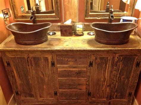 rustic sinks bathroom awesome rustic bathroom vanities sink cabinet and