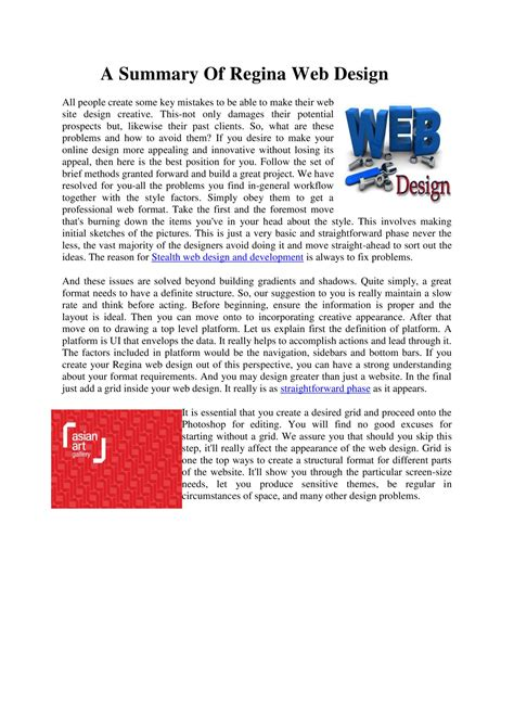 a summary of web design pdf docdroid