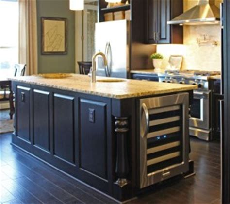 Kitchen Island With Refrigerator by Kitchen Cabinet Design Island Options Burrows Cabinets