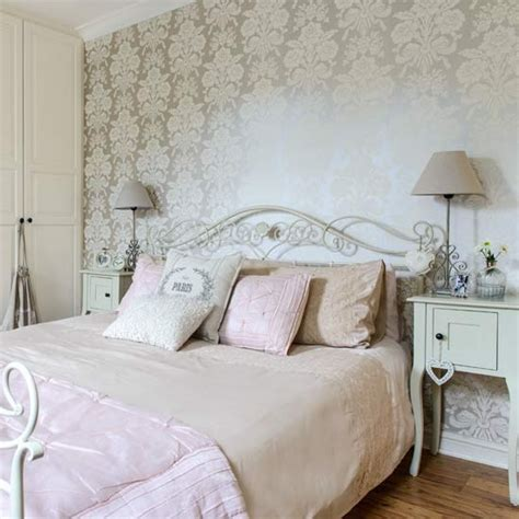French style bedroom with gold wallpaper country bedroom design ideas housetohome co uk