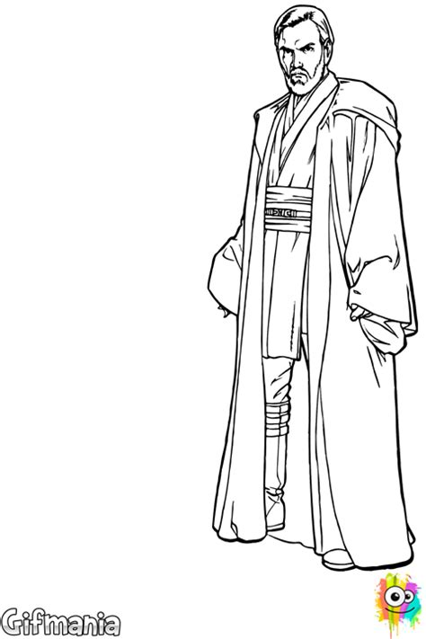 Obi Wan Coloring Pages free coloring pages of lego obi wan kenobi