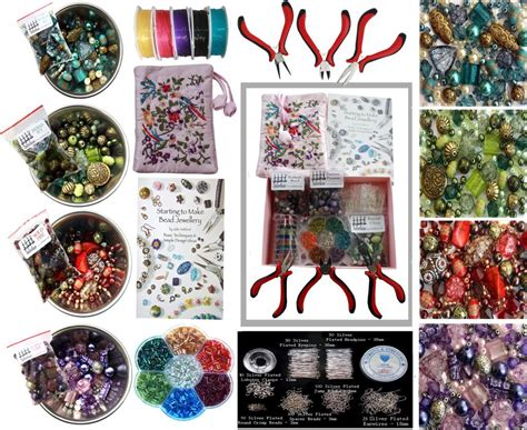 bead sets for adults deluxe adults jewellery mix pliers findings