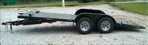 tilt bed car trailer equipment and car haulers southern sales inc dump