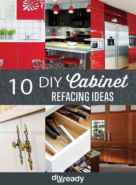 diy refacing kitchen cabinets ideas 10 diy cabinet refacing ideas diy ready