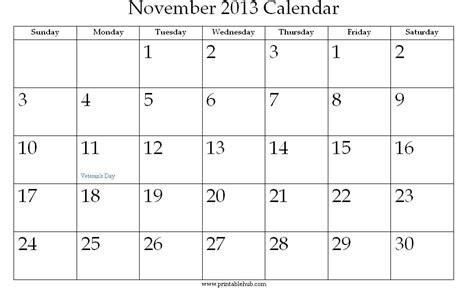 Calendar November 2013 Search Results For November 2013 Printable Calendar