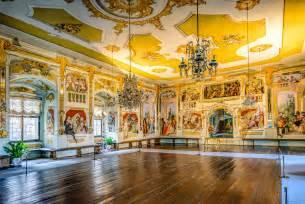 Castle Interior cesky krumlov castle the masquerade hall travel