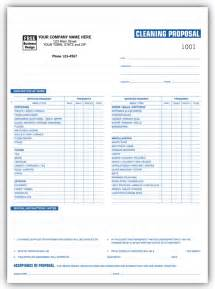 cleaning estimate template free free printable sle janitorial bid quote template forms