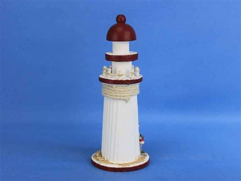 Cheap Lighthouse Decor by Buy Wooden Rustic Bay Harbor Decorative Lighthouse 10 Inch