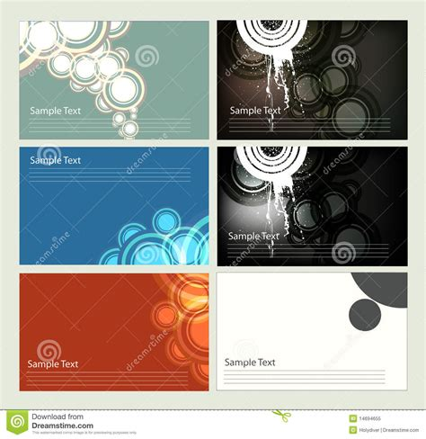 business cards templates royalty free business card templates royalty free stock photo image 14694655