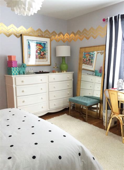 room makeovers black white and chic all over teen bedroom makeover