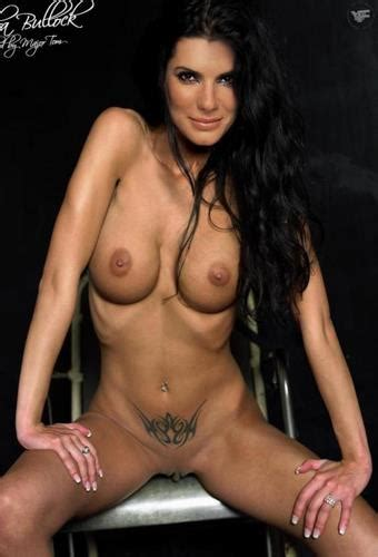 Naked Sandra Bullock Nude Photos