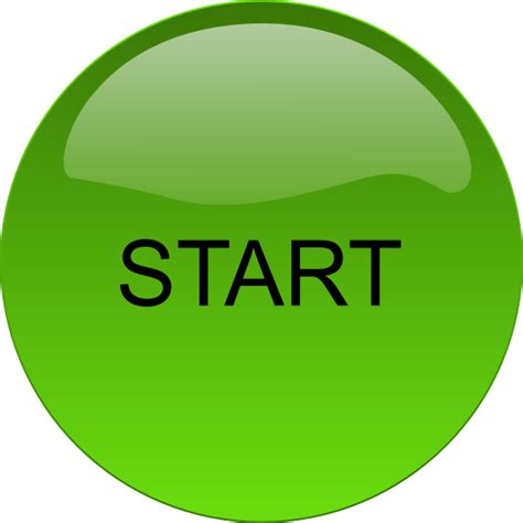 art startup start button clip art at clker com vector clip art