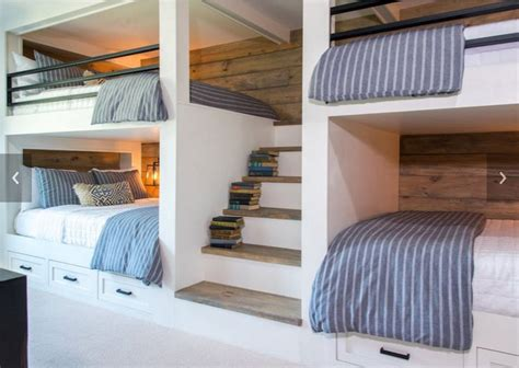 4 bunk beds in a room 1000 ideas about built in bunks on bunk