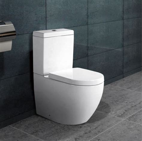 stand wc toilette mit spuelkasten mit deckel nano