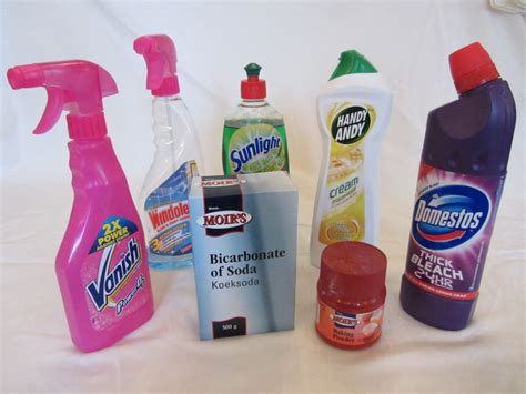 what are household products various household cleaning products bases siyavula