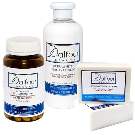 Gluta White Capsule dalfour glutathione ultrawhite set glutathione