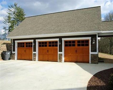 3 car garages three car garage
