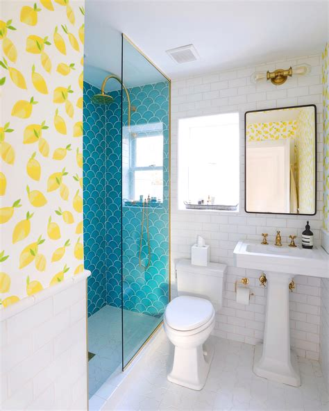 beach house guest bathroom reveal bright bazaar by will