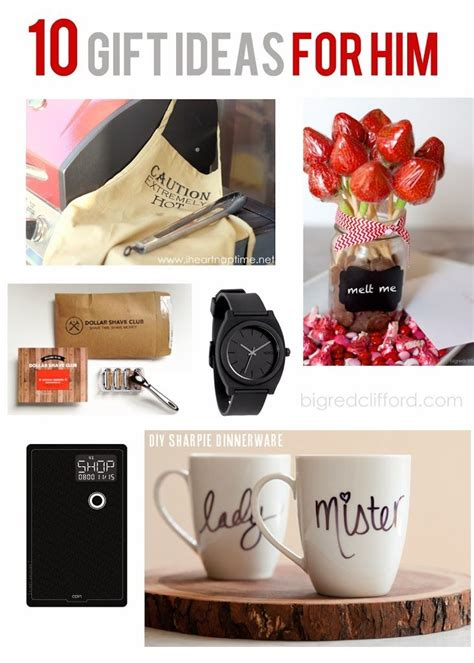for him valentines and gift ideas on