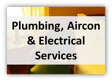 Plumbing And Electrical Services home services home hub and living