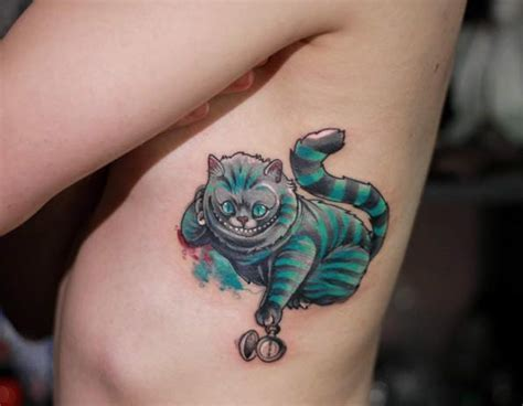 alice in wonderland tattoos small 100 best in tattoos cheshire cat
