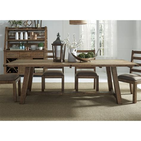 Room Store Prescott by Liberty Furniture Prescott Valley Dining Trestle Table Furniture And Appliancemart Dining