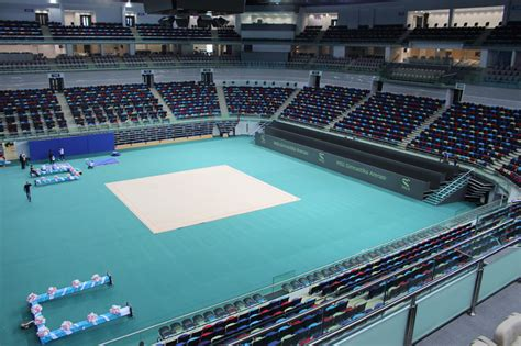 national gymnastics arena  azerbaijan  broadway malyan