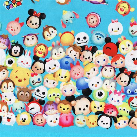 Tsum Tsum Navy tsum tsum find a fabric