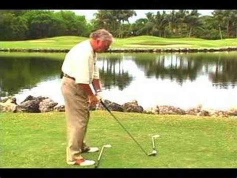 ballard golf swing golf tip drawing the ball jimmy ballard youtube