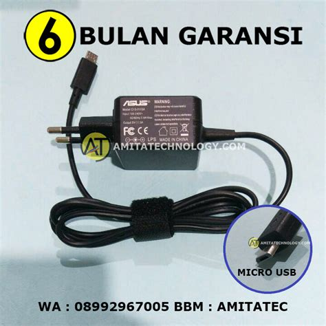 Adaptor Charger Asus Transformer 5v 3a Original amita technology baterai laptop surabaya