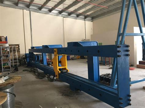 html test bed 200t horizontal wire rope testing bed chain sling test