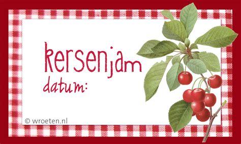 Etiketten Jam Maken by Jam En Gelei 2