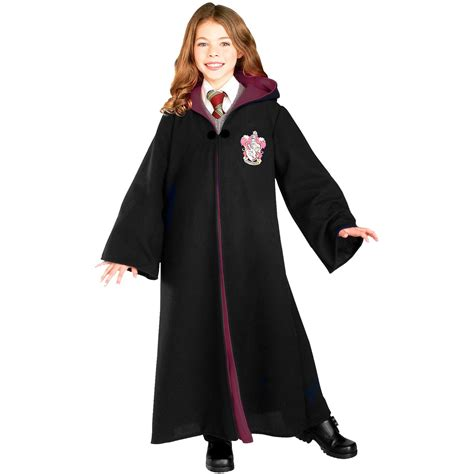 harry potter coloring book asda harry potter deluxe gryffindor robe child costume