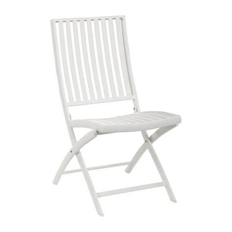 chaise de jardin blanche blanche chaise de jardin en aluminium laqu 233 blanc habitat