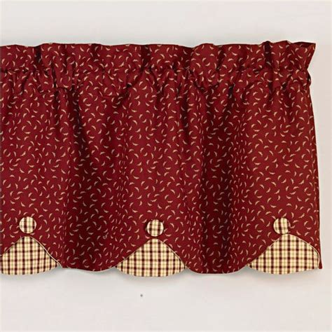 country apple curtains 17 best images about valances on pinterest window