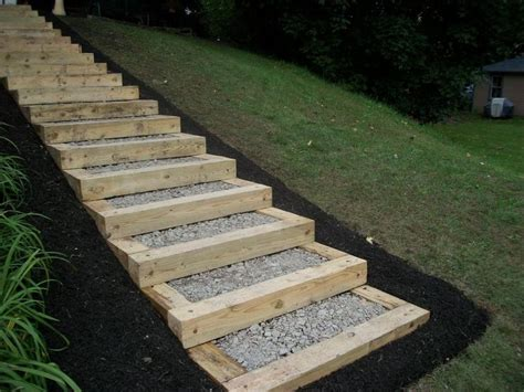 Landscape Timbers Best Price Landscaping Ideas Stair Petty S Landscaping Inc