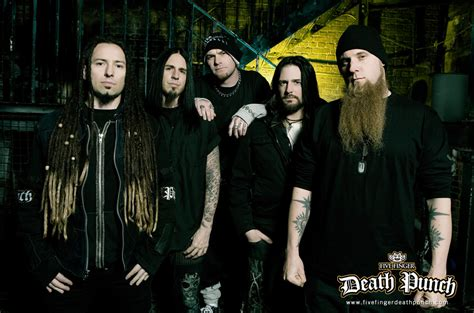 five finger death punch in your head five finger death punch is out to knock you down the echo